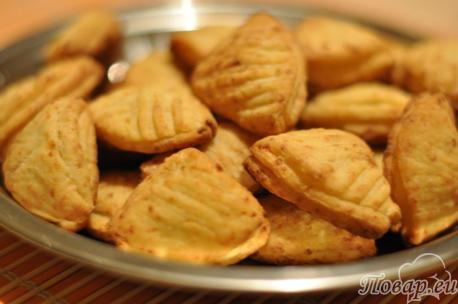 Печенье Ракушки с творогом: готовый десерт