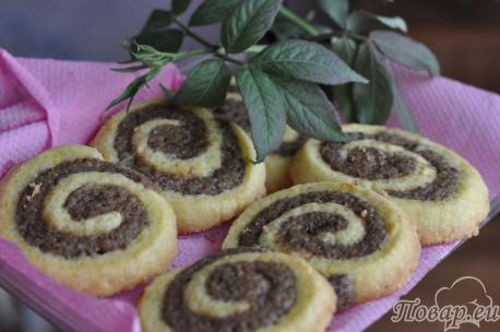 Песочное печенье Улитка