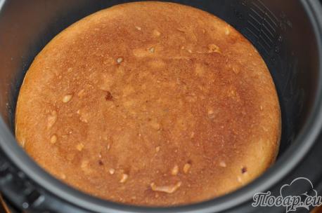Пирог дрожжевой в мультиварке: пирог в чаше