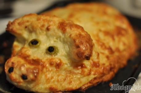 Пирог из капусты с картошкой