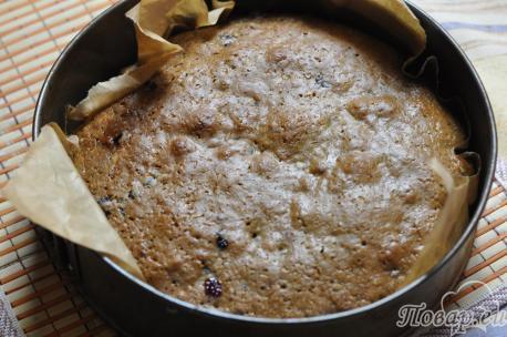 Пирог постный с вареньем: пирог в форме