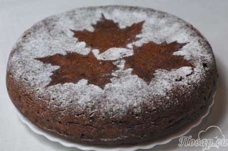 Пирог с сухофруктами в мультиварке: готовый пирог