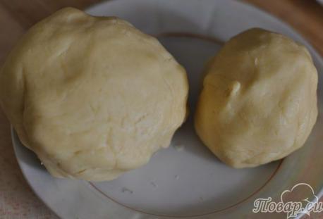 Пирог с яблоками: тесто