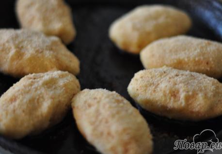 Пирожки из картофельного пюре с начинкой: пирожки на сковороде
