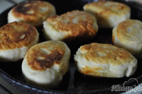 Пирожки на скорую руку: готовое блюдо