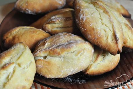 Пирожки с начинкой в духовке: готовая выпечка