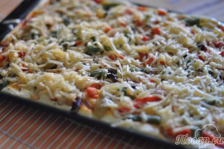 Сыр для пиццы быстрого приготовления в духовке