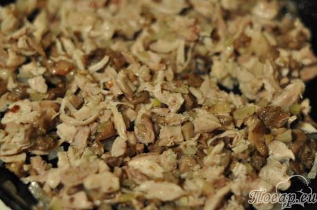 Приготовление жульена с грибами: шаг 1