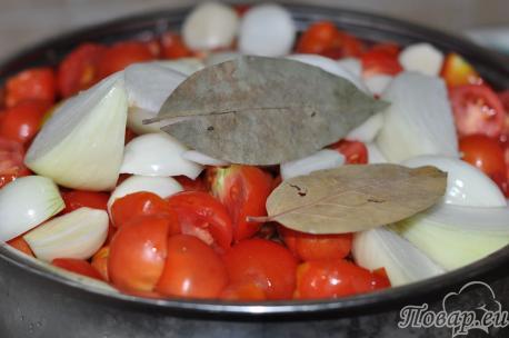 приготовление кетчупа в домашних условиях: шаг 1