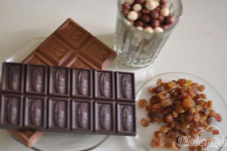ингредиенты для приготовления конфет в домашних условиях
