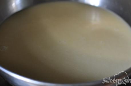 Тесто для приготовления торта Птичье молоко
