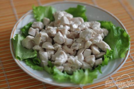 продукты для рецепта салата Цезарь