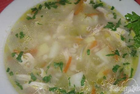Как правильно варить перловку для супа