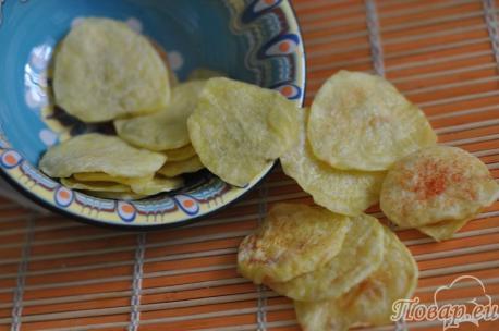Готовые чипсы по рецепту домашних чипсов