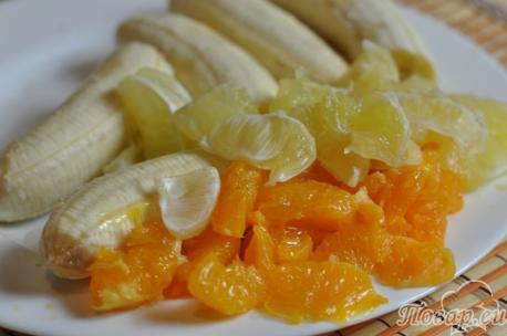 Рецепт фруктового сорбета: фрукты