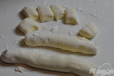 Рецепты приготовления галушек: тесто