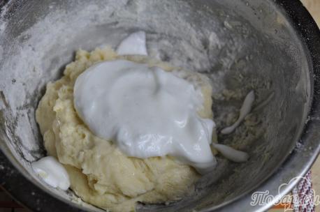 Рецепт клецек: добавление взбитого белка