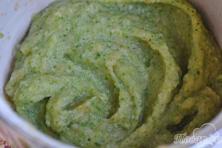 Рецепт овощного супа-пюре с сыром: пюре