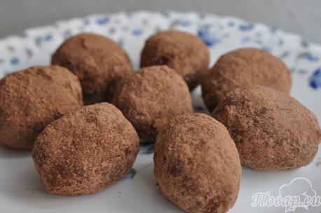 Рецепт пирожного Картошка: готовые пирожные