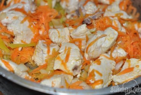 Рецепт подливы из курицы