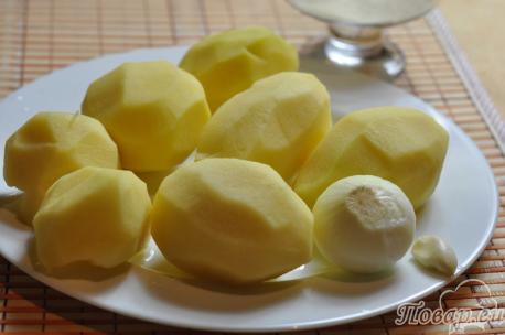 Рецепт постных драников: продукты