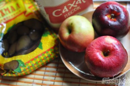 Рецепт яблочного киселя: продукты