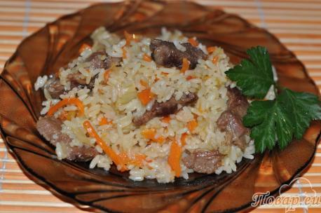 Как приготовить правильно рис на плите