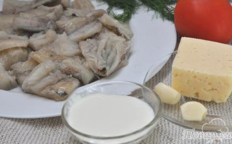 Рыба с помидорами под сыром: продукты