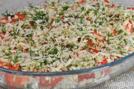 Рыба с помидорами под сыром: сыр