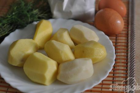 Шарики картофельные во фритюре: продукты