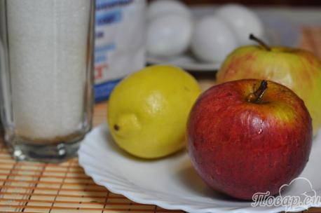 Рецепт шарлотки с яблоками в мультиварке: ингредиенты