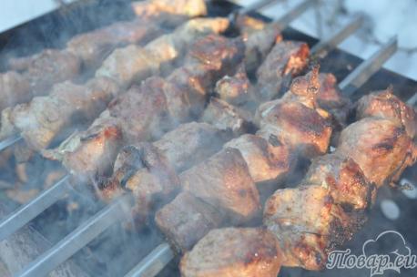 Как правильно приготовить шашлык: готовое блюдо