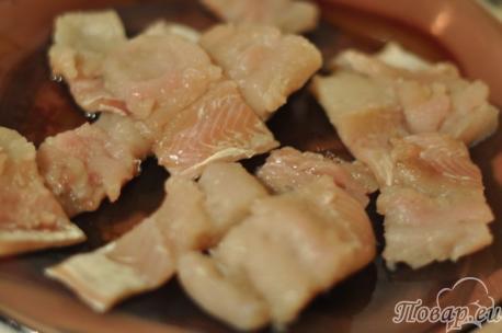 Щука с овощами: рыба