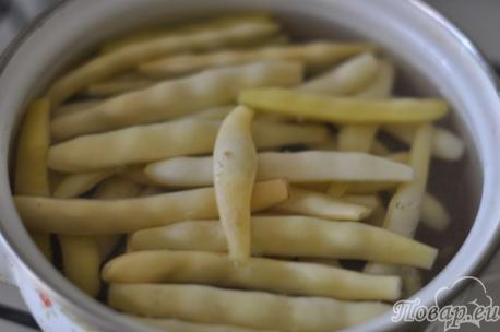 Спаржевая фасоль в соевом соусе с чесноком: варка фасоли