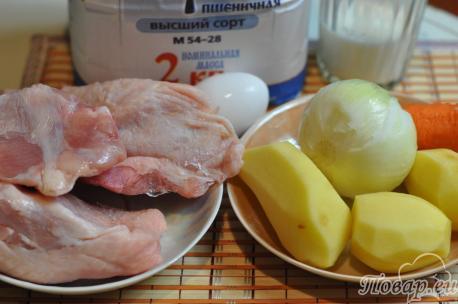 Суп с клёцками в мультиварке: ингредиенты