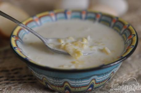 Суп затирка по-белорусски