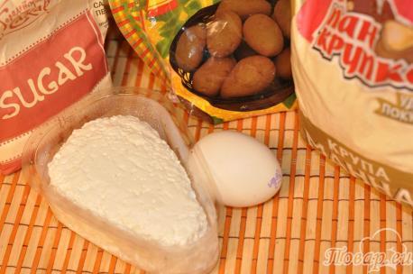 Сырники без муки: продукты