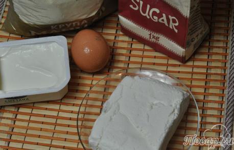 Сырники на пару в мультиварке: продукты