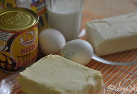 Торт Муравейник в домашних условиях: продукты