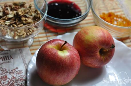 Яблоки по-венски: продукты