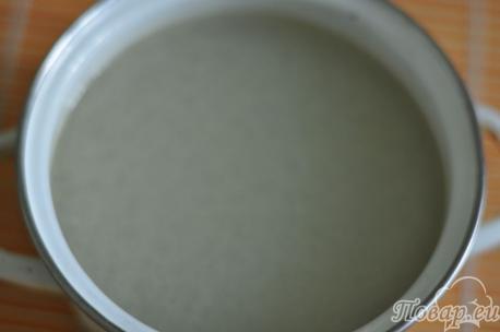 Куриный бульон для яичного супа