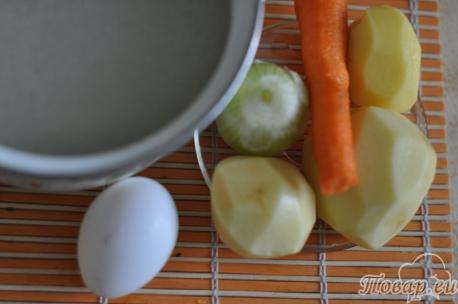 продукты для яичного супа