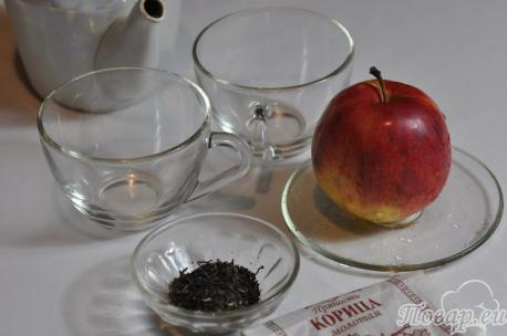 Зелёный чай с корицей: продукты