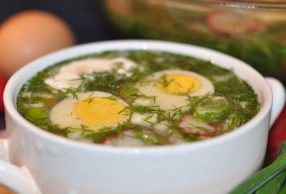 Как сварить суп с щавелем