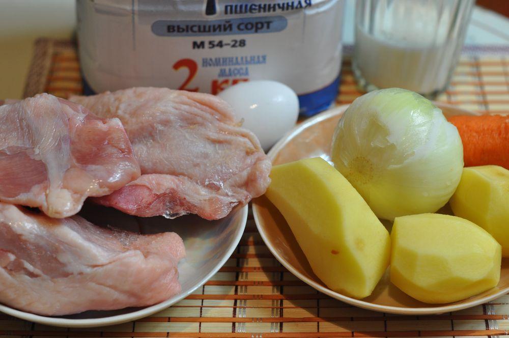Куриный суп с клецками в мультиварке пошаговый рецепт