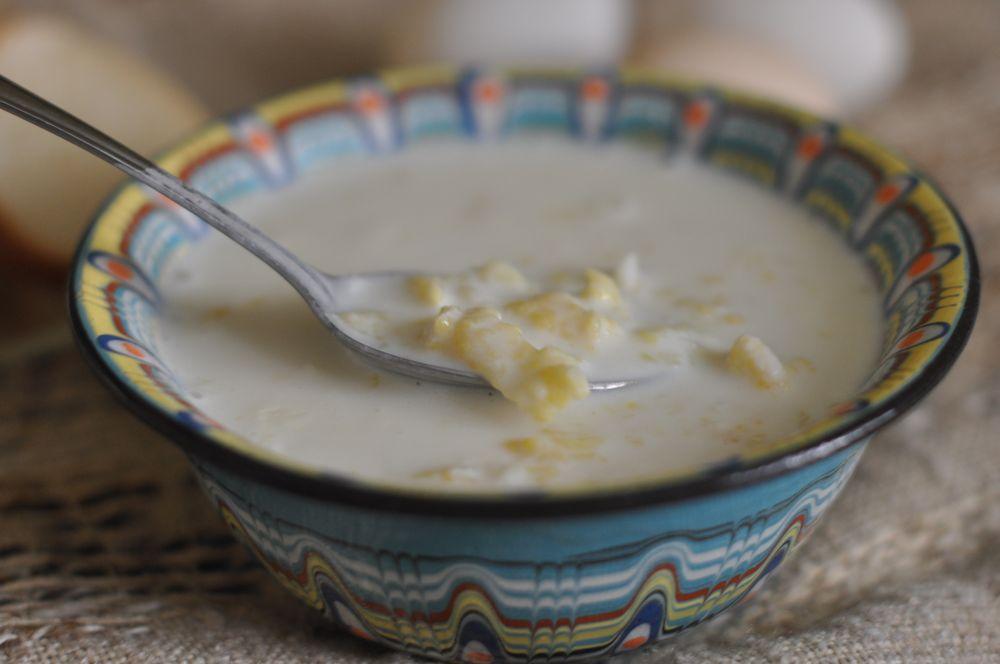 Затирка суп рецепт