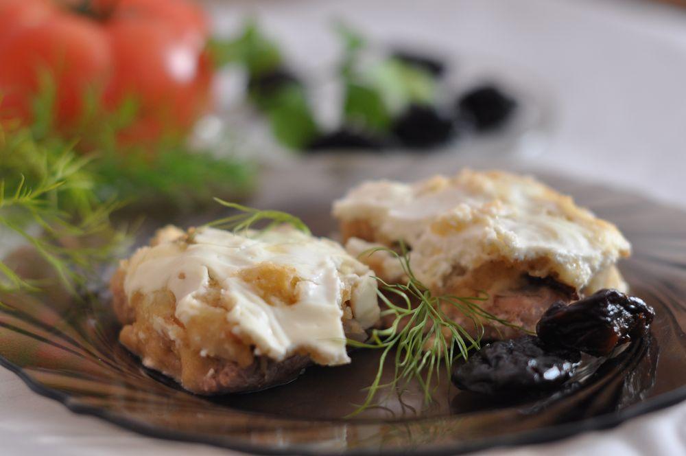 рецепт приготовления чернослива в духовке
