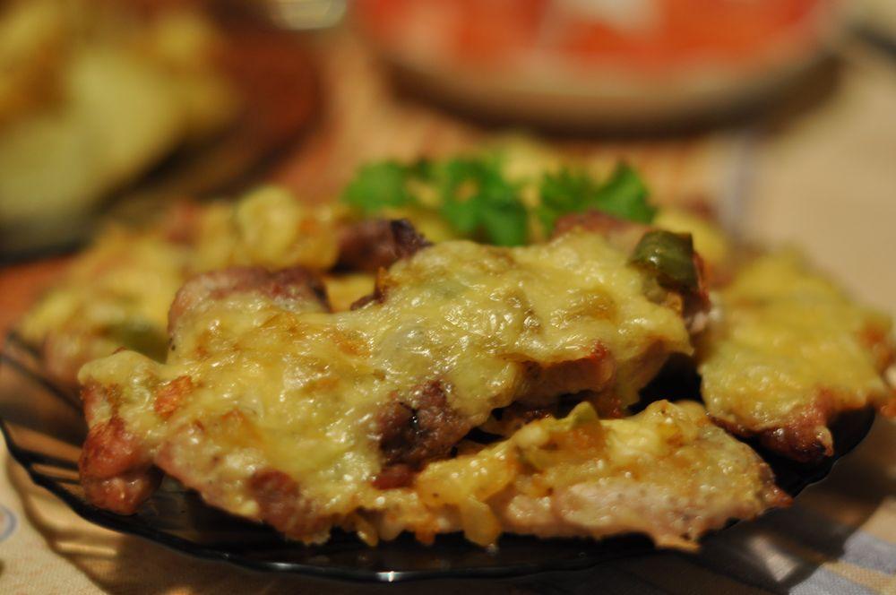 рецепт запечь кусок мяса в духовке #11