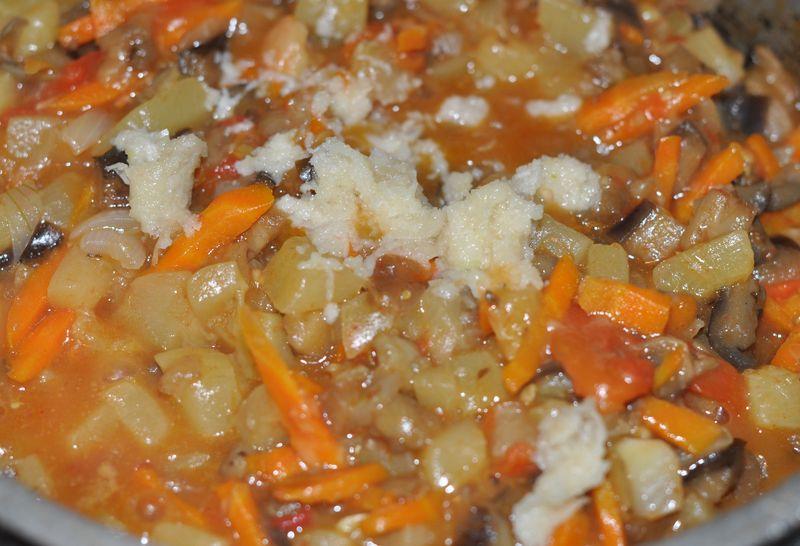 Баклажаны с кабачками тушеные рецепт пошагово