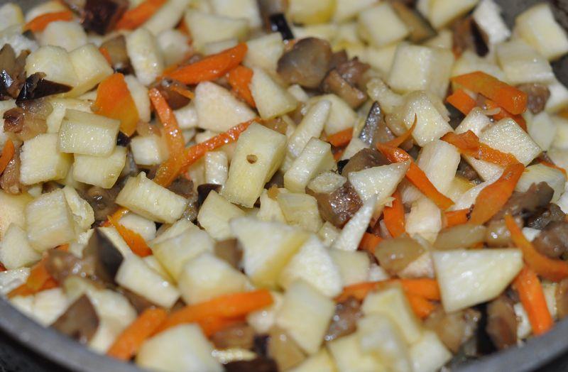 Кабачки и баклажаны тушеные рецепт с пошагово в
